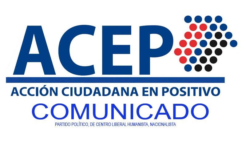 Diario Frontera, Frontera Digital,  ACEP, Politica, ,COMUNICADO DE ACCIÓN CIUDADANA EN POSITIVO