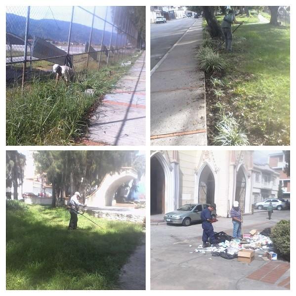 Diario Frontera, Frontera Digital,  CORMETUR, Regionales, ,Mantenimiento de parques y plazas por parte de Cormetur es permanente