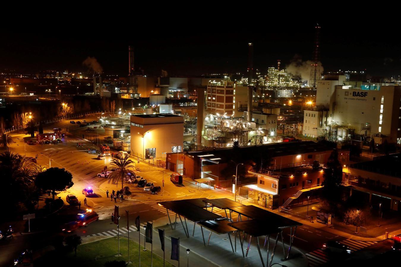 Diario Frontera, Frontera Digital,  EXPLOSION, Internacionales, ,Explosión en la petroquímica de Tarragona: al menos un muerto y ocho heridos