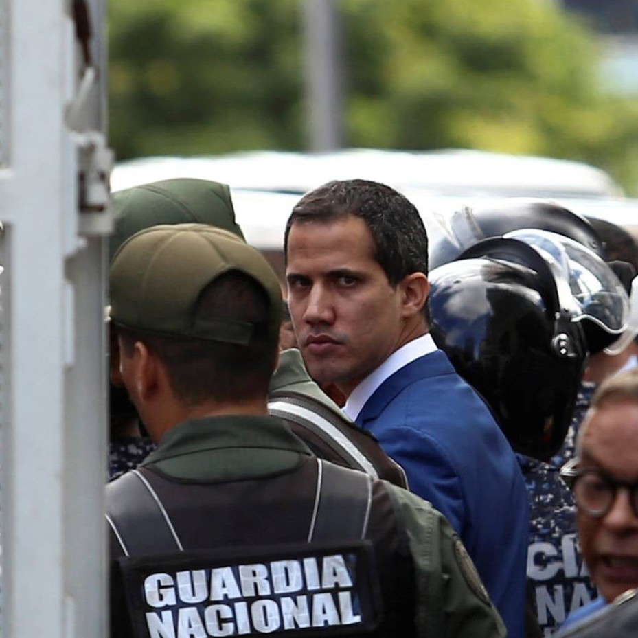 Diario Frontera, Frontera Digital,  AN, Nacionales, ,Un opositor disidente se juramenta como presidente  del Parlamento de Venezuela con el apoyo del chavismo