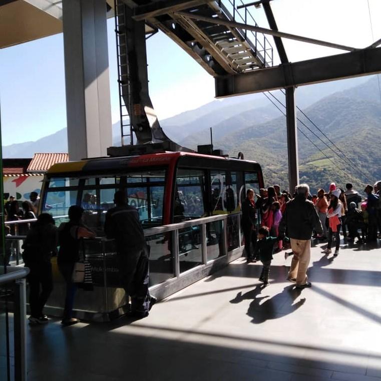 Diario Frontera, Frontera Digital,  TELEFERICO DE MÉRIDA, Regionales, ,Afluencia de 2000 turistas diarios registra el Teleférico Mukumbarí de Mérida