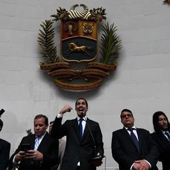 Diario Frontera, Frontera Digital,  AN, Nacionales, ,Guaidó y los diputados opositores consiguen  forzar las puertas y toman el control de la Asamblea