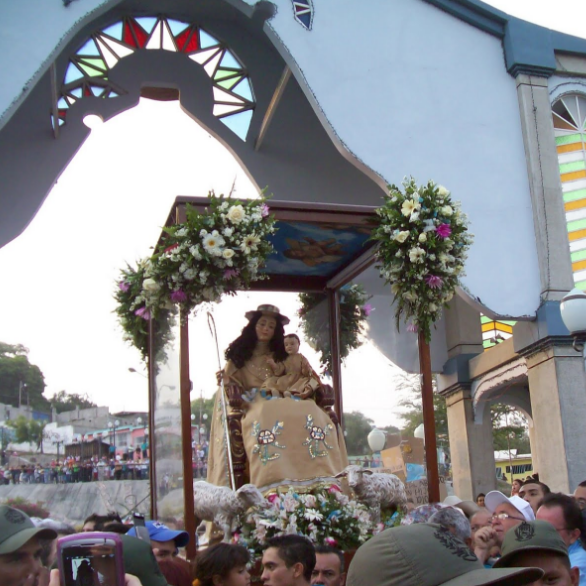 Frontera Digital, Diario Frontera, La Divina Pastora saldrá en procesión en Barquisimeto