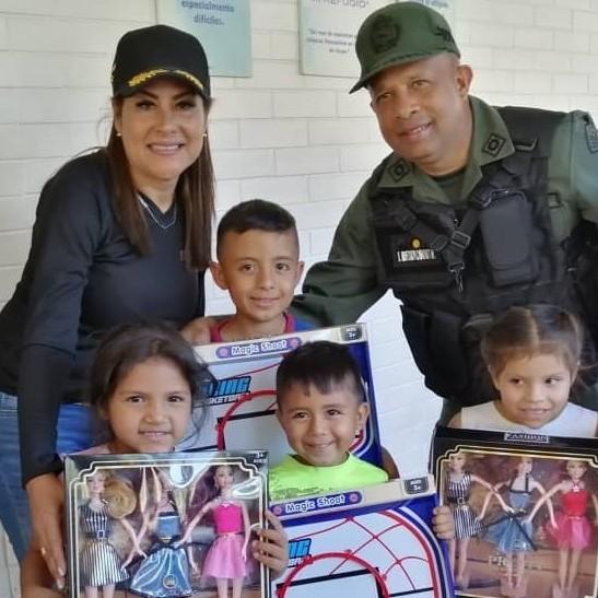 Diario Frontera, Frontera Digital,  GNB, Regionales, ,GNB entregó juguetes a 35 niños y niñas del Hospital Dr. Tulio Carnevalli Salvatierra en Mérida