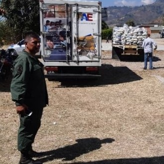 Diario Frontera, Frontera Digital,  PAE, Regionales, ,PAE distribuye productos en municipio Aricagua