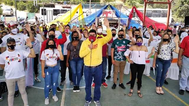 Diario Frontera, Frontera Digital,  COMANDO DE CAMPAÑA DARÍO VIVAS, MÉRIDA, Politica, ,Jóvenes revolucionarios deben asumir la tarea combatiente de recuperar la AN