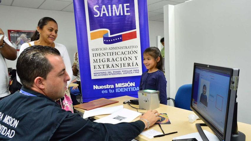 Diario Frontera, Frontera Digital,  SAIME, Nacionales, ,Saime aclara que atención en sus sedes no es por apartado de cupo