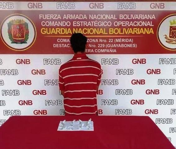 Diario Frontera, Frontera Digital,  GNB, Sucesos, ,GNB DETUVO A CIUDADANO AL INCAUTARLE 20 ENVOLTORIOS DE MARIHUANA EN LA PANAMERICANA