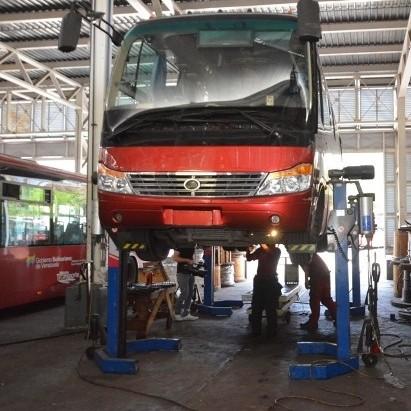 Diario Frontera, Frontera Digital,  TROLE, Regionales, ,Avanza recuperación de unidades de Trolebús Mérida  tras adquisición de insumos en Planta Yutong