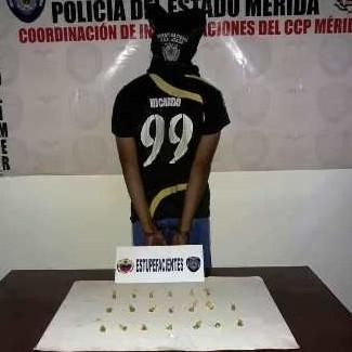 """Diario Frontera, Frontera Digital,  MUNICIPIO LIBETADOR, MÉRIDA, Sucesos, ,APREHENDEN A """"EL NEGRO"""" CON PRESUNTA DROGA EN PARROQUIA SPINETTI DINI DE LIBERTADOR"""