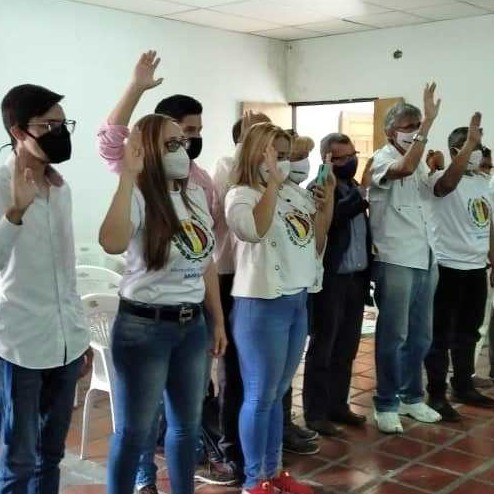 Diario Frontera, Frontera Digital,  CEM AD LIBERTADOR, MÉRIDA, Politica, ,Juramentado comité municipal de AD de Libertador en Mérida