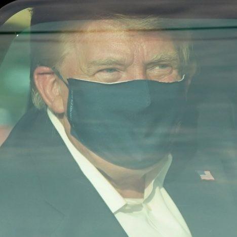 Diario Frontera, Frontera Digital,  DONALD TRUMP, Internacionales, ,Trump salió del hospital por unos instantes para saludar a su seguidores