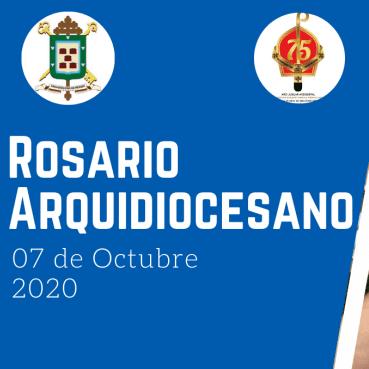 Diario Frontera, Frontera Digital,  ropsario, Regionales, ,Arquidiócesis de Mérida realizó Rosario Arquidiocesano  a través de las plataformas virtuales