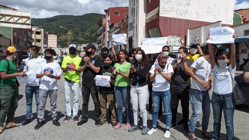 Diario Frontera, Frontera Digital,  ULA, ESTUDIANTES, Regionales, ,Jóvenes de la ULA-Mérida  reclaman mejores condiciones para estudiar