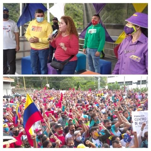 Diario Frontera, Frontera Digital,  CIERRE CIRCUITO 3, PSUV, IRIS VARELA, Politica, ,Iris Varela en Mérida: a punto de cantar victoria el 6-D,  ni el pueblo se rinde ni Maduro se cansa