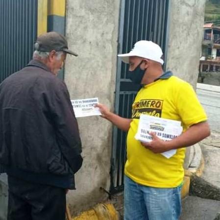 """Diario Frontera, Frontera Digital,  JHON PETER FLORES, PRIMERO VENEZUELA, Politica, ,""""Estamos tocando fondo y es necesario cambiar  ejerciendo el derecho al voto"""""""