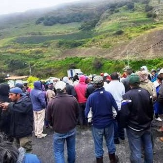 Diario Frontera, Frontera Digital,  PROTESTA EN SAN RAFAEL DE MUCUCHÍES, Páramo, ,Habitantes de San Rafael de Mucuchíes se manifiestan ante falta de gas, luz y gasolina