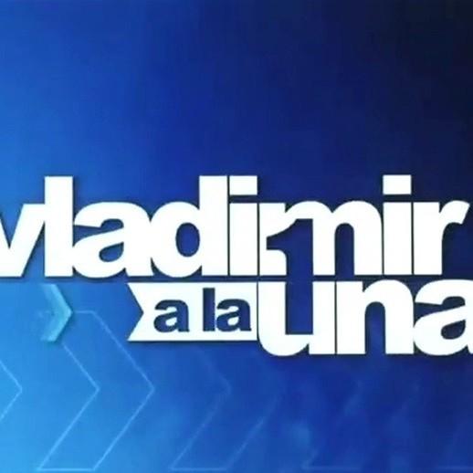 Frontera Digital,  VLADIMIR A LA UNA, Farándula,  Vladimir a la 1 regresa este lunes a Globovisión