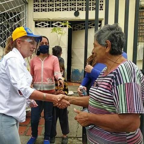 Frontera Digital,  MARÍA EUGENIA FEBRES - CORDERO, Politica,  María Eugenia Febres Cordero: Hay dinero para inútiles movilizaciones  pero no hay recursos para el gas, el agua y la luz