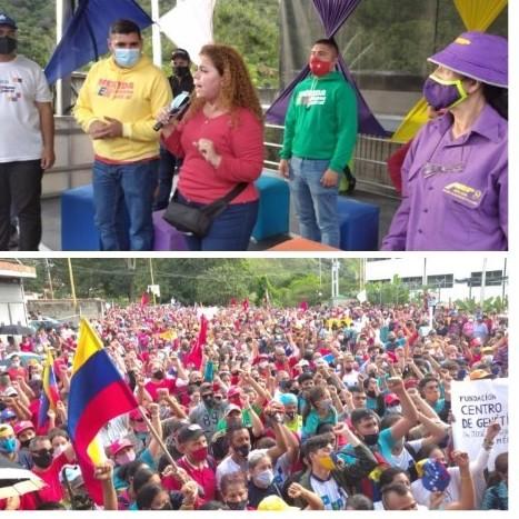 Diario Frontera, Frontera Digital,  CIERRE CIRCUITO 3, PSUV, IRIS VARELA, Politica,