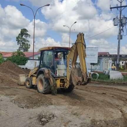 Frontera Digital,  VILLAS MILENIO, ALBERTO ADRIANI, Panamericana,  AVANZA CONSTRUCCIÓN DE AGUAS SERVIDAS EN VILLA MILENIO