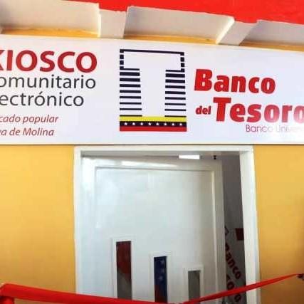 Diario Frontera, Frontera Digital,  BANCO DEL TESORO, kiosco comunitario electrónico, Nacionales, ,Banco del Tesoro inauguró  kiosco comunitario electrónico en  Maracaibo