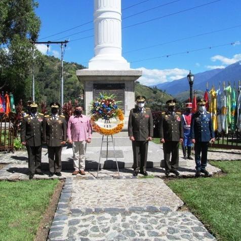 Diario Frontera, Frontera Digital,  MÉRIDA, AUTORIDADES MILITARES, Regionales, ,Autoridades militares conmemoraron muerte del Libertador Simón Bolívar