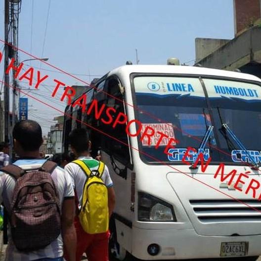 Diario Frontera, Frontera Digital,  NO HAY TRANSPORTE, Regionales, ,No hay transporte en Mérida por falta de combustible