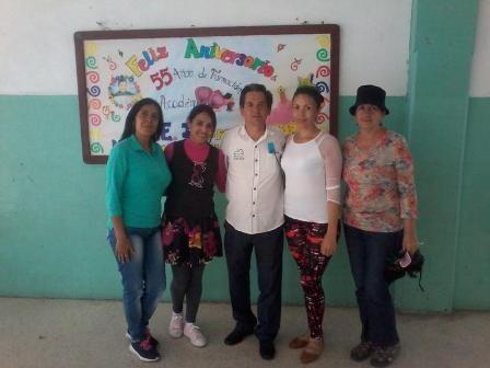 Diario Frontera, Frontera Digital,  EDUCACIÓN, GOBIERNO DE MÉRIDA, Regionales, ,Escuela Estadal Josefa Molina de Duque celebró su 55 aniversario