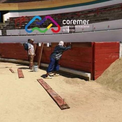 Diario Frontera, Frontera Digital,  COREMER, Regionales, ,Monumental de Mérida con nueva imagen para la Feria del Sol 2020