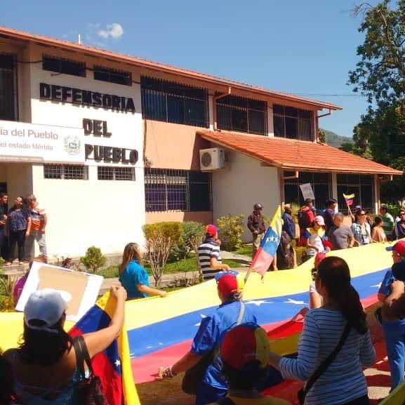 Diario Frontera, Frontera Digital,  DENUINCIA, DFENSORIA DEL PUEBLO, Regionales, ,Ciudadanos en Mérida protestaron por falta de servicios básicos