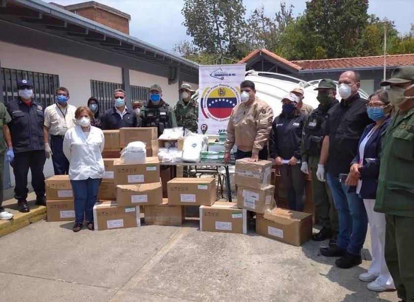 Diario Frontera, Frontera Digital,  DOTACIÓN MÉRIDA, Regionales, ,40 toneladas de insumos y dispositivos médicos  llegaron a Mérida para centros asistenciales