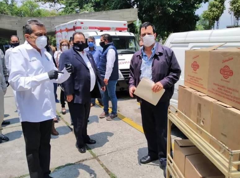 Diario Frontera, Frontera Digital,  LABORATORIOS VALMORCA, Salud, ,Gobernador recibió donativo de Laboratorios Valmorc