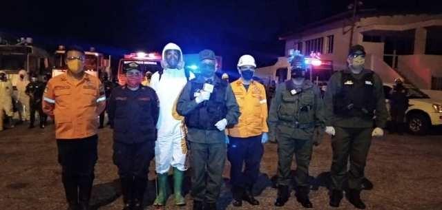 Diario Frontera, Frontera Digital,  GNB, Regionales, ,GNB realizo plan de Desinfección en espacios públicos de Mérida