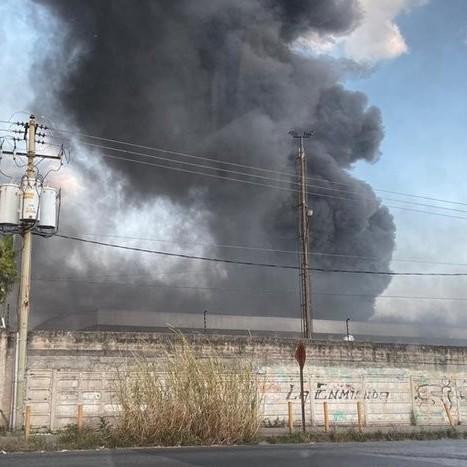 Diario Frontera, Frontera Digital,  CNE, Nacionales, ,Reportan incendio en los galpones del CNE en Mariche
