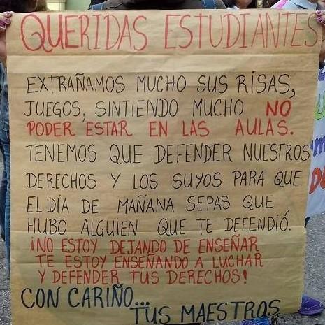 Diario Frontera, Frontera Digital,  PROTESTAN MAESTROS MERIDEÑOS, Regionales, ,Maestros merideños   a la Calle en defensa  de la cláusula 59 II CCUU de un salario digno