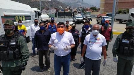 Diario Frontera, Frontera Digital,  Plan nacional de desinfección y embellecimiento, Regionales, ,Plan nacional de desinfección y embellecimiento  arrancó en Mérida desde el sistema Trolebús
