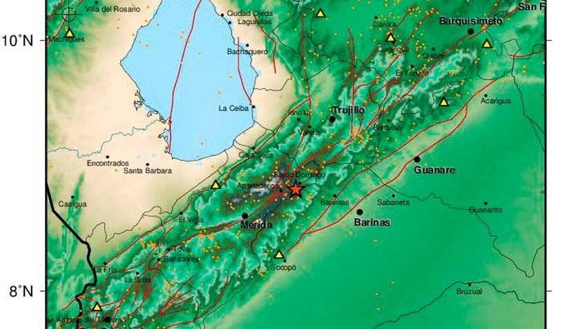 Diario Frontera, Frontera Digital,  TEMBLOR EN MÉRIDA, Sucesos, ,Funvisis reportó sismo de magnitud 3,5 en Mérida