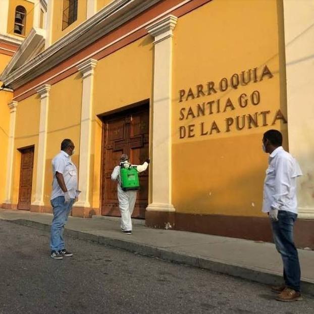 Diario Frontera, Frontera Digital,  ALCALDIA DE MÉRIDA, FUMIGACIÓN, DESINFECCIÓN, Regionales, ,Con éxito Alcaldía de Mérida realizó desinfección en la Parroquia