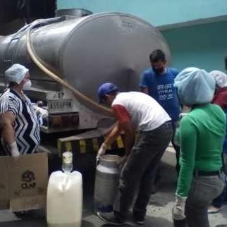 Diario Frontera, Frontera Digital,  SIMÓN FIGUEROA, Regionales, ,Comunidad de El Palmo de Los Olivos en Campo Elìas  recibió 320 litros de leche líquida