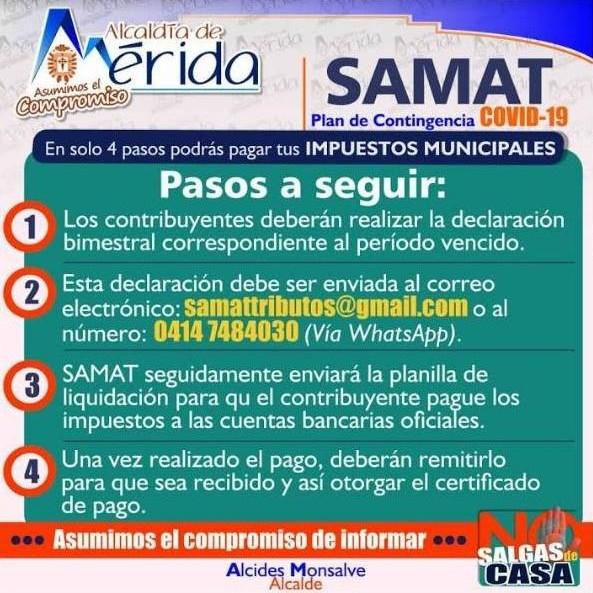 Diario Frontera, Frontera Digital,  SAMAT, ESTEBAN TORREALBA, Regionales, ,Avanza Plan de Contingencia para cobrar tributos en el municipio Libertador