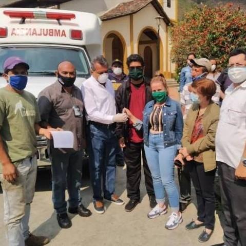 Diario Frontera, Frontera Digital,  EL MOLINO, GOBIERNO DE MÉRIDA, Regionales, ,El Molino ya cuenta con una ambulancia operativa