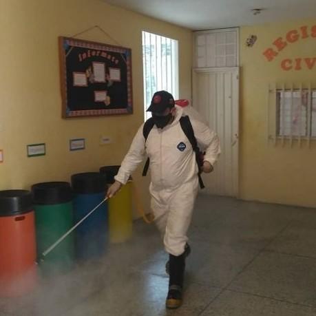 Diario Frontera, Frontera Digital,  DESINFECCIÓN, Regionales, ,Edificios del Gobierno regional reciben operativo  de desinfección para el combate del COVID-19