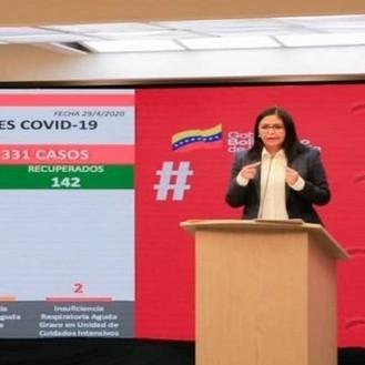 Diario Frontera, Frontera Digital,  DEL CY RODRÍGUEZ, Nacionales, ,Delcy Rodríguez reportó dos nuevos casos de coronavirus