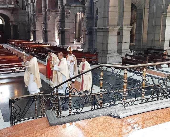 Diario Frontera, Frontera Digital,  BASÍLICA MENOR DE MÉRIDA, Regionales, ,Celebrados 60 años de la consagración de la Catedral de Mérida