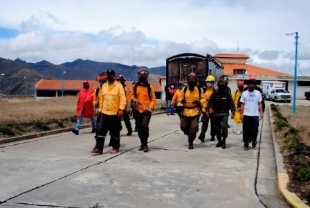 Diario Frontera, Frontera Digital,  LLANODEL HATO, CIDA, Páramo, ,Desinfección en Llano del Hato lideró el Cida con apoyo de bomberos