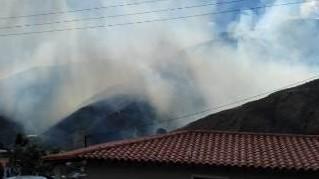 http://fronteradigital.com.ve/Se salió de control incendio en la Capellanía en Bailadores, municipioo Rivas Dávila