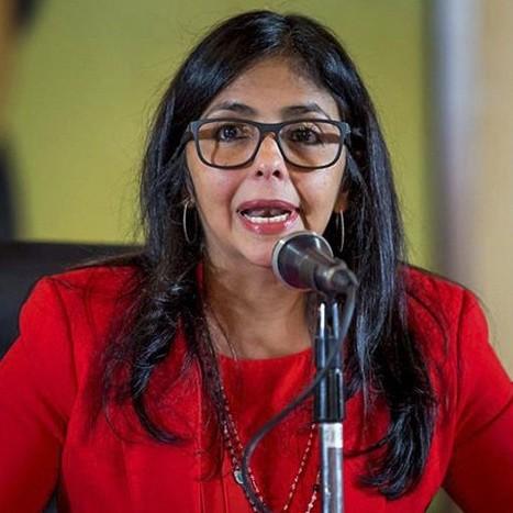 Diario Frontera, Frontera Digital,  DELCY RODRÍGUEZ, Nacionales, ,Delcy Rodríguez dijo que el Sistema Eléctrico Nacional  sufrió un ataque después del intento de incursión terrorista #5May