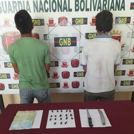 Diario Frontera, Frontera Digital,  EL VIGÍA, Sucesos, ,GNB atrapa dos microtraficantes de marihuana en El Vigía