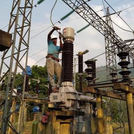 Diario Frontera, Frontera Digital,  TOVAR, CORPOELEC, Regionales, ,Instalados tres Transformadores de Potencia en la Subestacion Tovar